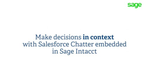 Sage Intacct Collaborate Connects the Front and Back-Office