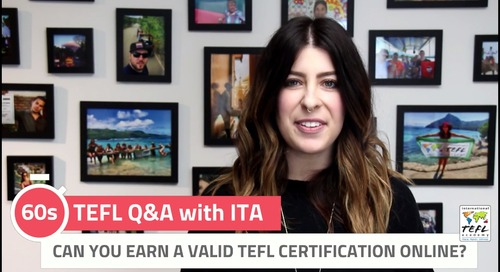 Can You Earn a Valid TEFL Certification Online? - TEFL Q&A with ITA