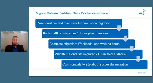 Velos Annual Meeting Day 2 - Data Migrations Best Practices