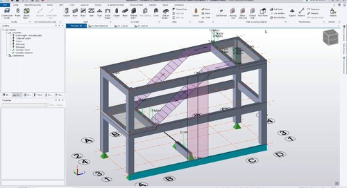 Key Features for Modelling in Tekla Structural Designer