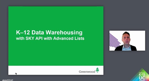 K-12 Data Warehousing with SKY API with Advanced Lists