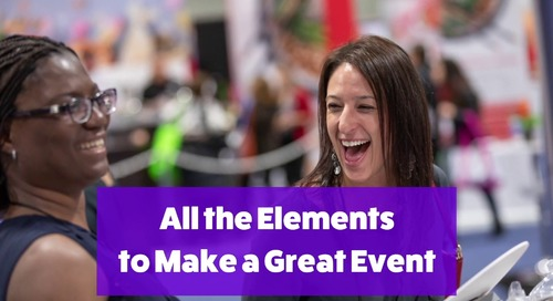 All the Elements to Make a Great Event