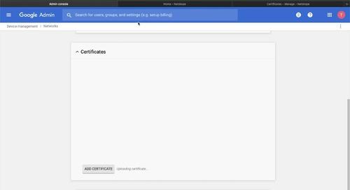 Demo - Chrome OS support