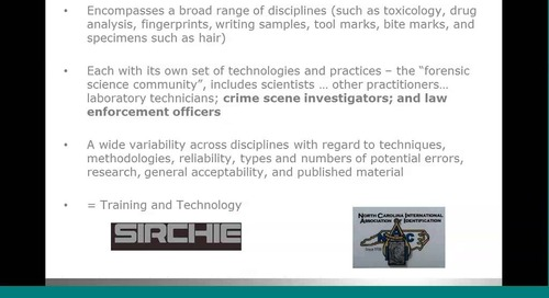 3D laser scanning - the future of forensics