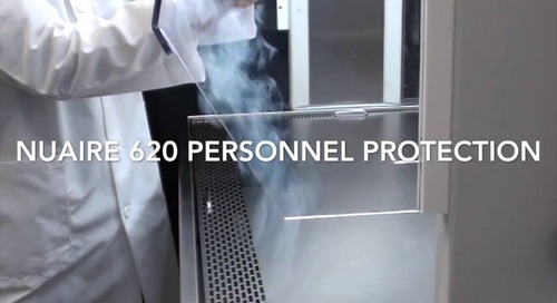[Video] AllerGard NU-620 Smoke Flow Demonstration