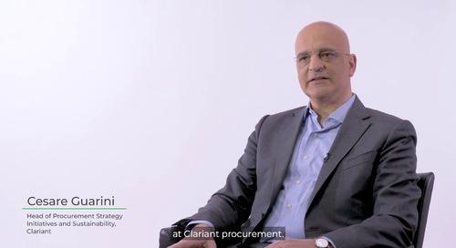 Clariant Talks About Their Sustainable Procurement Initiative