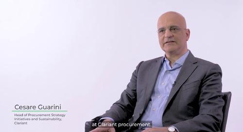 Clariant parla delle sue iniziative di approvvigionamento sostenibile.