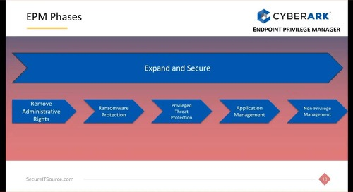 Lessons Learned: How to Successfully Address Endpoint Privilege with SecureITsource and CyberArk