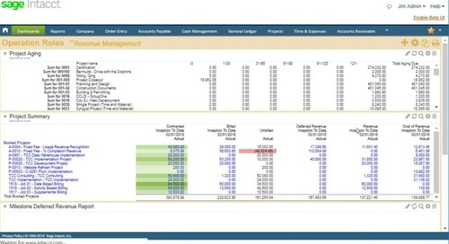 Revenue Recognition for  Project-based Businesses