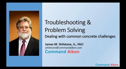 #9 - Troubleshooting & Problem Solving: Dealing with Common Concrete Challenges