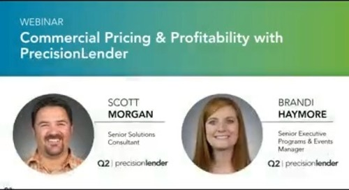 Demo: Commercial Pricing and Profitability With PrecisionLender