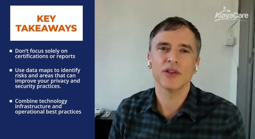 What advice would you give to home care agencies around security and privacy practices? (Feat. Richard Guttman, CLO AlayaCare)