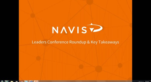 NAVIS Performance Series: Leaders Conference Roundup & Biggest Takeaways