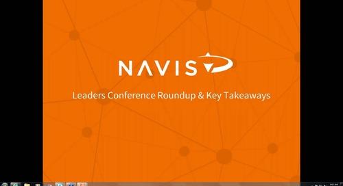 NAVIS Performance Series: Leaders Conference Roundup & Biggest Takeaways