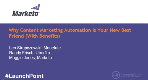 Webinar: Why Content Marketing Automation is Your New Best Friend (With Benefits)