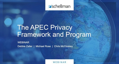 The APEC Privacy Framework and Program