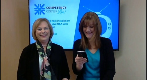 Competency Corner Live with Suzanne Simpson - March 2018