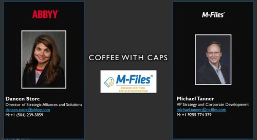 Information Innovation Podcast: Coffee with CAPs - ABBYY