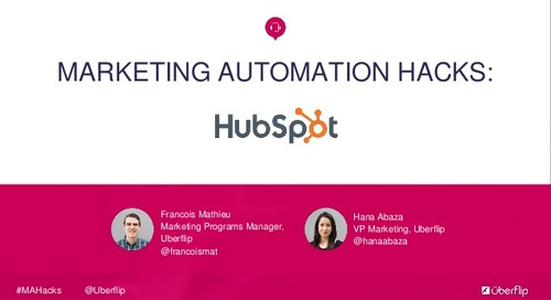 Marketing Automation Hacks: HubSpot