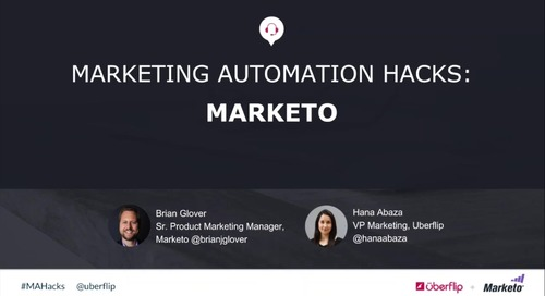 Marketing Automation Hacks 2016: Marketo