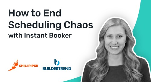 How Instant Booker Helped Buildertrend Eliminate Scheduling Chaos - Chili Meetings - Instant Booker