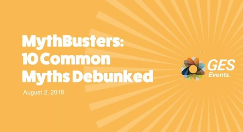 MYTHBUSTERS: 10 Common Event Myths Debunked [Webinar]