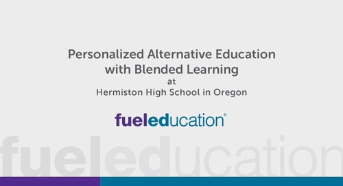 Oregon High School Uses Blended Learning for Alt Ed