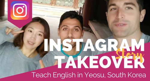 Teaching English in Yeosu, South Korea - TEFL Social Takeover with Ryan Thompson