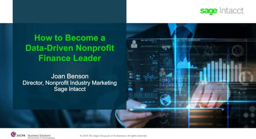 How to Become a Data-Driven Nonprofit Finance Leader