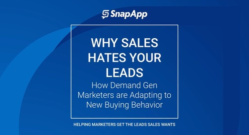 Webinar - Why Sales Hates Your Leads