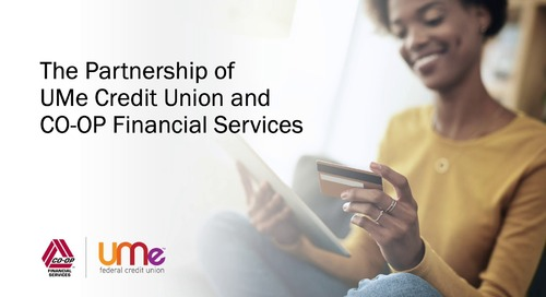 UMe Credit Union Testimonial | CO-OP Processing