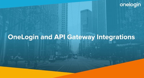 OneLogin and API Gateway Integrations
