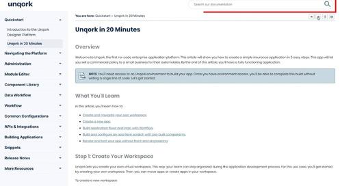 Demo: Documentation Portal