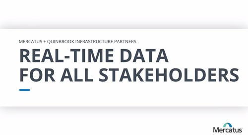 Real-Time Data For All Stakeholders | Mercatus Customer Interviews