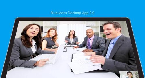 BlueJeans Desktop App 2.0 Tutorial