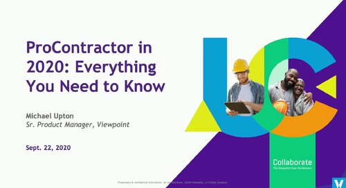 ProContractor in 2020: Everything You Need to Know
