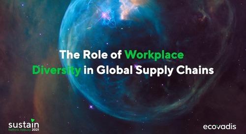 L'enjeu de la diversité sur les milliers d'employés des chaînes d'approvisionnement mondiales