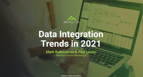 Webinar - Top Data Integration Trends in 2021