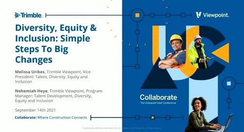Industry Pro - Diversity, Equity & Inclusion: Simple Steps to Big Changes