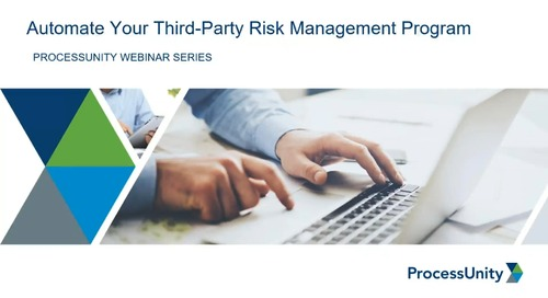 Webinar Replay: Automate Your Vendor Risk Management Program