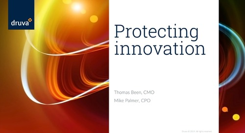Druva Product Launch: Protect and Future-Proof Innovation