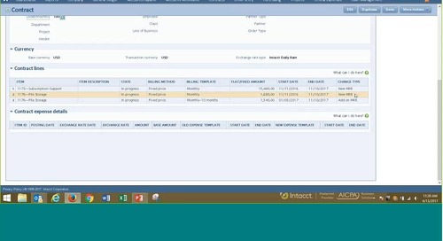 Real-time Financial Reporting for Software Companies