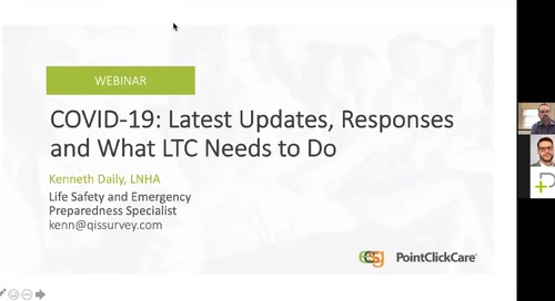 COVID-19: Latest Updates, Responses and What LTC Need to Do