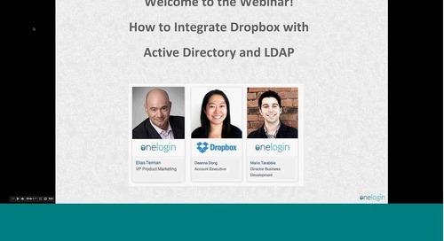 Integrate Dropbox with Active Directory & LDAP