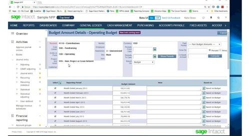 A Modern General Ledger For Nonprofits: Not Your Mothers Chart of Accounnts