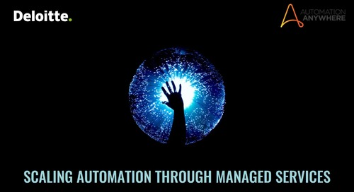Scaling Automation through Managed Services
