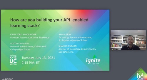 How are you building your API-enablement learning stack?