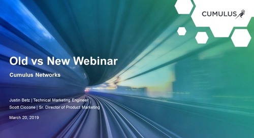 Webinar: The old way of networking meets the new way of innovation