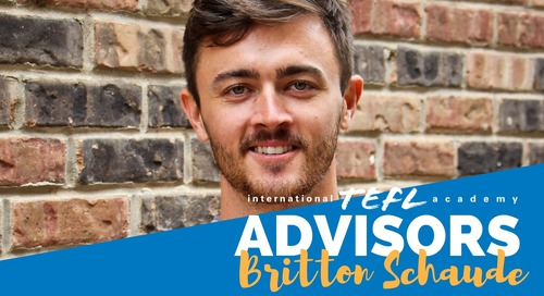 International TEFL Academy Advisor - Britton Schaude