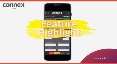CONNEX Feature Highlight   eTest